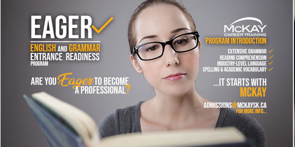 EAGER | English and Grammar Entrance Readiness